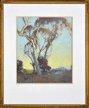 Sale 8363 - Lot 503 - Dixon Copes (1914 - 2002) - Landscape 40.5 x 33.5cm
