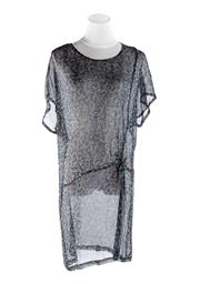 Sale 8493A - Lot 79 - A printed Gorman top/dress in soft blue-gray tones, AU size 10
