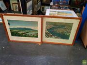 Sale 8627 - Lot 2055 - Pair of Decorative Prints TAA Aviation (AF)