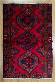 Sale 8657C - Lot 12 - Persian Hamadan 194cm x 125cm