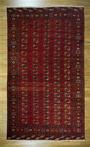 Sale 8665C - Lot 10 - Vintage Russian Turkman 365cm x 208cm
