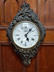 Sale 8697 - Lot 1087 - Reproduction Wall Clock