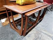 Sale 8765 - Lot 1049 - G-Plan Teak Nest of Tables