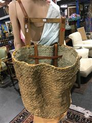 Sale 8795 - Lot 1057 - Vintage Fruit Picking Basket