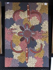 Sale 8807 - Lot 2096 - Mary Dixon Nungurrayi (c1942 - ) Bush Tucker Dreaming acrylic on canvas, 69 x 46cm, inscribed verso