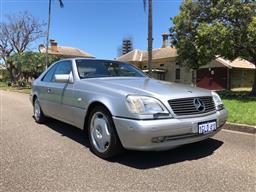Sale 9110V - Lot 4 - 1997 Mercedez-Benz CL500