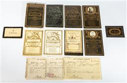 Sale 9190E - Lot 95 - Collection of Australian funeral cards