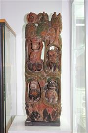 Sale 8348 - Lot 87 - Thai Wood Carving