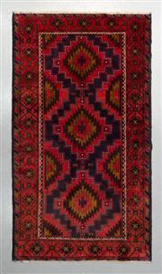Sale 8499C - Lot 34 - Persian Baluchi 216cm x 116cm