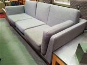 Sale 8669 - Lot 1026 - Modern Fabric Upholstered 3 Seater Lounge