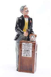 Sale 8694 - Lot 1 - Royal Doulton Figure of An Auctioneer