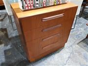 Sale 8765 - Lot 1061 - G-Plan Teak 4 Drawer Chest