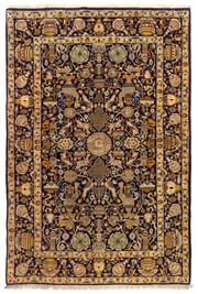 Sale 8715C - Lot 130 - A Persian Kashan From Isfahan Region, 100% Wool Pile On Cotton Foundation, 210 x 140cm