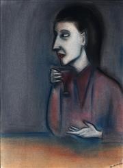Sale 9001 - Lot 533 - Robert Dickerson (1924 - 2015) - Aperitif 76 x 56 cm (frame: 101 x 80 x 3 cm)