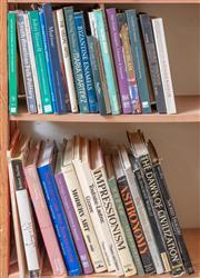 Sale 9071H - Lot 69 - Two shelf lots of Art Books including Impressionism, Modern Art, Byzantine Enamels etc.