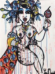 Sale 9072A - Lot 5005 - Yosi Messiah - Serenity Whit 100 x 75 cm (frame: 104 x 79 cm)