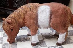 Sale 9103M - Lot 424 - A composite figure of a pony, Height 39cm x Length 64cm