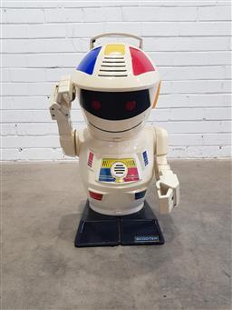 Sale 9117 - Lot 1033 - Scooter the robot (h:60cm)