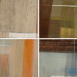 Sale 9221JM - Lot 5033 - BELYNDA HENRY (1973 - ) (4 works) Driving III, Panel 9-12 oil on canvas on board 60 x 60 cm, each inscribed verso