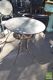 Sale 8390 - Lot 1363 - Metal Table