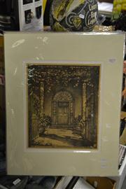 Sale 8453 - Lot 2077 - Hardy (William Hardy) Wilson (1881 - 1955) (2 works), Riversdale, Goulburn & Royal Hotel Windsor, original lithographs (mounted/...