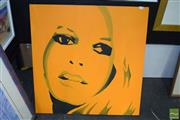 Sale 8509 - Lot 2008 - Yellow Portrait (Twiggy)