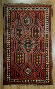 Sale 8657C - Lot 13 - Persian Hamadan 209cm x 129cm
