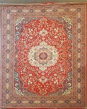 Sale 8669 - Lot 1085 - Persian Machine Made Rug (390 x 304cm)