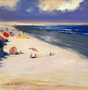 Sale 8693A - Lot 5015 - Colin Parker (1941 - ) - Cable Beach, WA 29.5 x 29.5cm