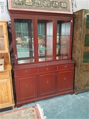 Sale 8676 - Lot 1182 - Modern Sideboard with Bookcase Top