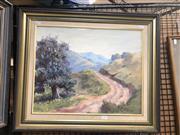 Sale 8784 - Lot 2051 - Sheila Todd - Mountain Walk 37 x 44.5cm