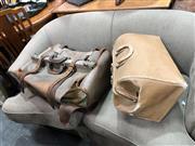 Sale 8851 - Lot 1052 - Vintage Leather Cases x 2