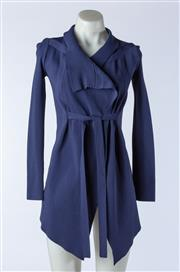 Sale 9003F - Lot 94 - A Scanlan Theodore Wrap jacket in Blue, Size S