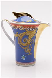 Sale 9060 - Lot 2 - Rosenthal Versace lidded creamer jug (H13.5cm)