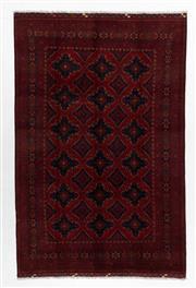 Sale 8760C - Lot 52 - An Afghan Khal Mohammadi 100%Wool Pile, 310 x 202cm