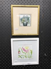 Sale 8836 - Lot 2069 - 2 Works: Small Framed Margaret Preston Print And Another
