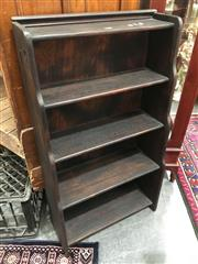 Sale 8851 - Lot 1089 - Vintage hand Made Cascade Form Open Bookcase
