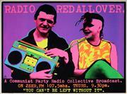 Sale 9019 - Lot 2010 - Gregor Cullen (Redback Graphix) - RADIO RED ALL OVER 1984 76 x 102 cm