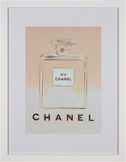Sale 9154JM - Lot 5016 - ANDY WARHOL (1928 - 1987) Chanel No. 5 decorative print after original 58 x 41 cm (frame: 88 x 69 x 3 cm) gallery frame
