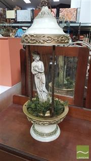 Sale 8390 - Lot 1559 - Ceramic Table Lamp