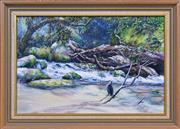 Sale 8408 - Lot 503 - Hugh Schulz (1921 - 2005) - Rainforest 32 x 45cm