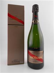 Sale 8479 - Lot 1848 - 1x 2006 GH Mumm Le Millesime Brut, Champagne - in box