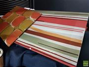 Sale 8483 - Lot 2082 - 2 Stretched Textiles