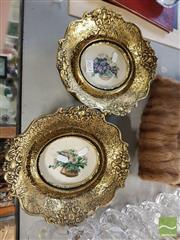 Sale 8552 - Lot 2073 - 2 Framed Tapestries