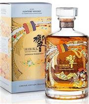 Sale 8660 - Lot 715 - 1x Suntory Whisky Hibiki - Japanese Limited Edition Blended Japanese Whisky - 43% ABV, 700ml, in presentation box