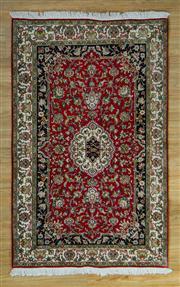 Sale 8665C - Lot 13 - Kashmiri Silk 155cm x 93cm