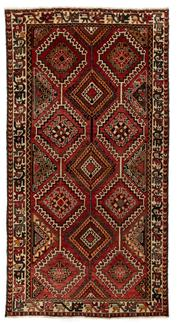 Sale 8715C - Lot 101 - A Persian Bakhtiyari And Classic Garden Design, 100% Wool On Cotton, Classed As Pre-Revolution Weave , 299 x 155cm