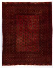 Sale 8790C - Lot 61 - An Afghan Kondoosi 100% Wool On Cotton Foundation And Natural Dyes, 260 x 206cm