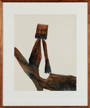 Sale 8871H - Lot 108 - SIDNEY NOLAN (1917 - 1992) - Kelly & Horse 64x53cm