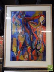 Sale 8407T - Lot 2029 - Elizabeth Haddad (XX) - The Anointing 71 x 49cm
